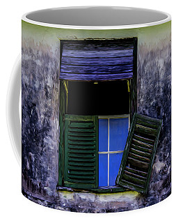 Coffee Mug featuring the photograph Old Window 2 by Stuart Manning