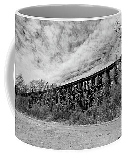 Coffee Mug featuring the photograph Old Wooden Bridge 10 Color by Joseph C Hinson Photography