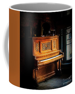 Old Wooden Piano Coffee Mug