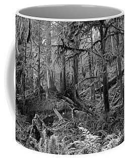 Coffee Mug featuring the photograph Olympic Rainforest by Jeni Gray