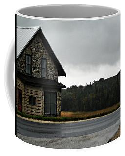 On A Cloudy Corner Coffee Mug