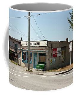 Coffee Mug featuring the photograph On Gilmore by Juan Contreras