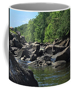 Coffee Mug featuring the photograph On The Occoquan by Lora J Wilson