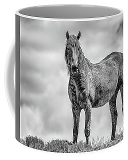Coffee Mug featuring the photograph On The Ridge by Mary Hone