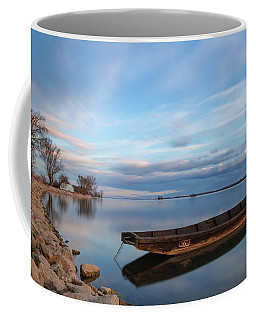 On The Shore Of The Lake Coffee Mug