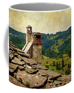 On The Top Of The Mountain Coffee Mug