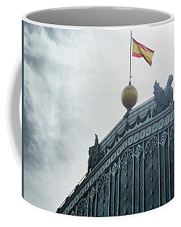 On Top Of The Puerta De Atocha Railway Station Coffee Mug