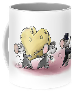 Only The Best Cheese Will Do Coffee Mug