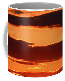 Orange And Black Coffee Mug