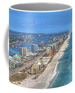 Orange Beach East Coffee Mug