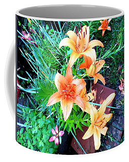 Orange Burst Coffee Mug