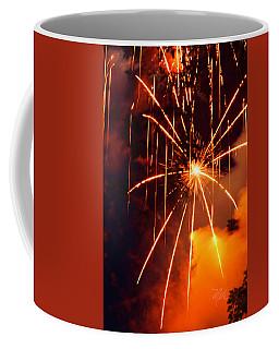 Orange Chetola Fireworks Coffee Mug