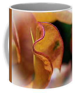 Orange Croton Coffee Mug