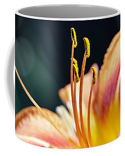 Orange Day Lily Stamen Coffee Mug