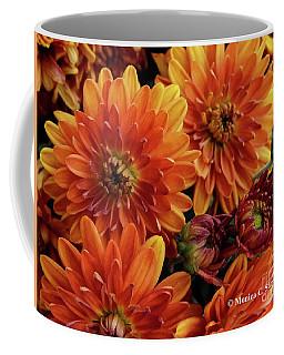 Orange Flowers No. 14 Coffee Mug