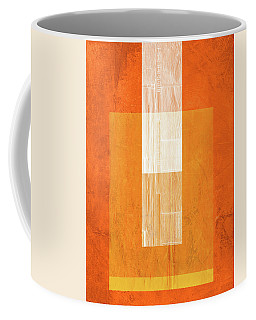 Orange Paper II Coffee Mug