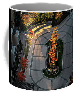 Orange Trees In Autumn Coffee Mug