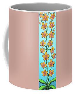 Orchid Blue Bliss Coffee Mug