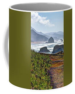 Coffee Mug featuring the photograph Oregon Coast Formations by Jerry Sodorff