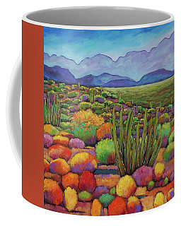 Organ Pipe Coffee Mug
