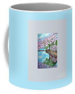 Original Painting. Joy Of Spring. Coffee Mug