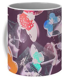 Ornate Air Mail Coffee Mug