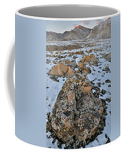 Ornate Boulder Beneath The Book Cliffs Coffee Mug