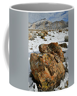Ornate Colorful Boulders In The Book Cliffs Coffee Mug