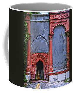 Ornate Red Wall Coffee Mug
