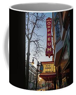 Orpheum Theater Madison, Alice Cooper Headlining Coffee Mug