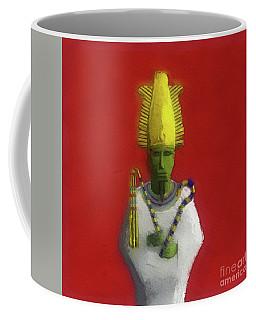 Osiris, God Of Ancient Egypt Coffee Mug