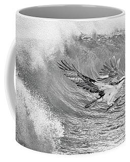 Osprey The Catch Bw Coffee Mug