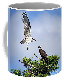 Ospreys At Blue Cypress Lake Coffee Mug