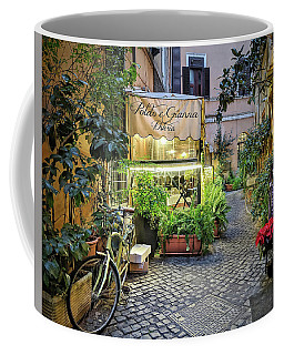 Coffee Mug featuring the photograph Osteria Roma - Jo Ann Tomaselli by Jo Ann Tomaselli