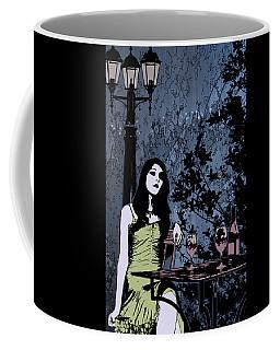 Out At Night Coffee Mug