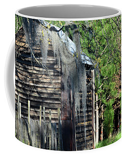 Out Behind The Woodshed Coffee Mug