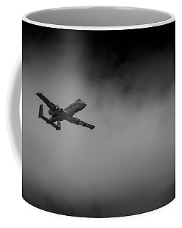 Out Of The Clouds - A-10c Thunderbolt Coffee Mug
