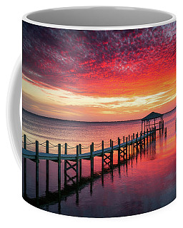 Outer Banks North Carolina Sunset Seascape Photography Duck Nc Coffee Mug