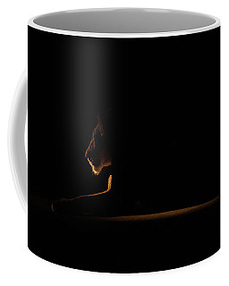 Outline African Lion Coffee Mug