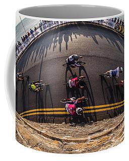 Ovo Energy Pro Cycle Race In Aberystwyth Coffee Mug