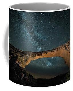 Owachomo Natural Bridge And Milky Way Coffee Mug