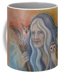 Owl Crone Coffee Mug