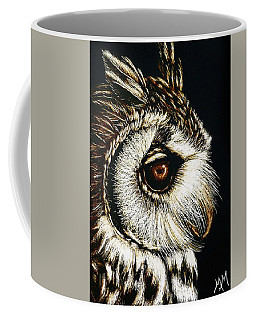 Owl Portrait Coffee Mug