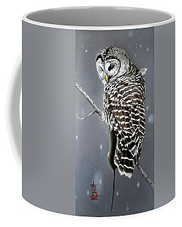 Owl With Her Catch Coffee Mug