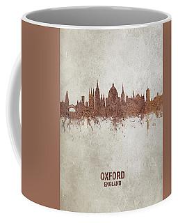 Oxford England Rust Skyline Coffee Mug