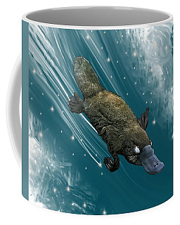 P Is For Platypus Coffee Mug