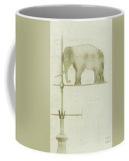 Pachyderm House, Philadelphia Zoo, Detail Of Weather Vane Coffee Mug