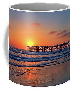 Pacific Beach Pier Sunset Coffee Mug