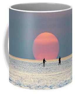 Sunrise Paddle Boarding Coffee Mug