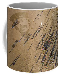 Pages Of The Sea - Ynyslas Beach Wales Coffee Mug